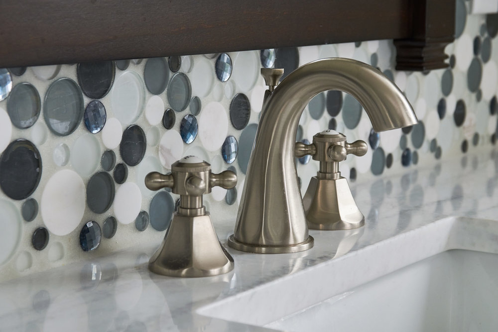 Whimsical Tiling and Faucet