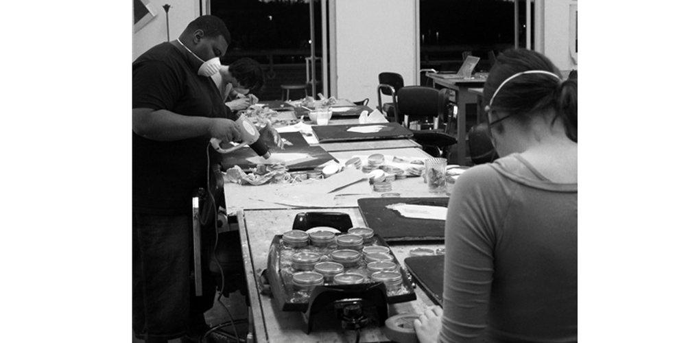 Studio Process :: 2012