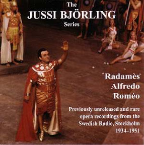 BJÖRLING AS RADAMÈS - ALFREDO - ROMÉO   $15