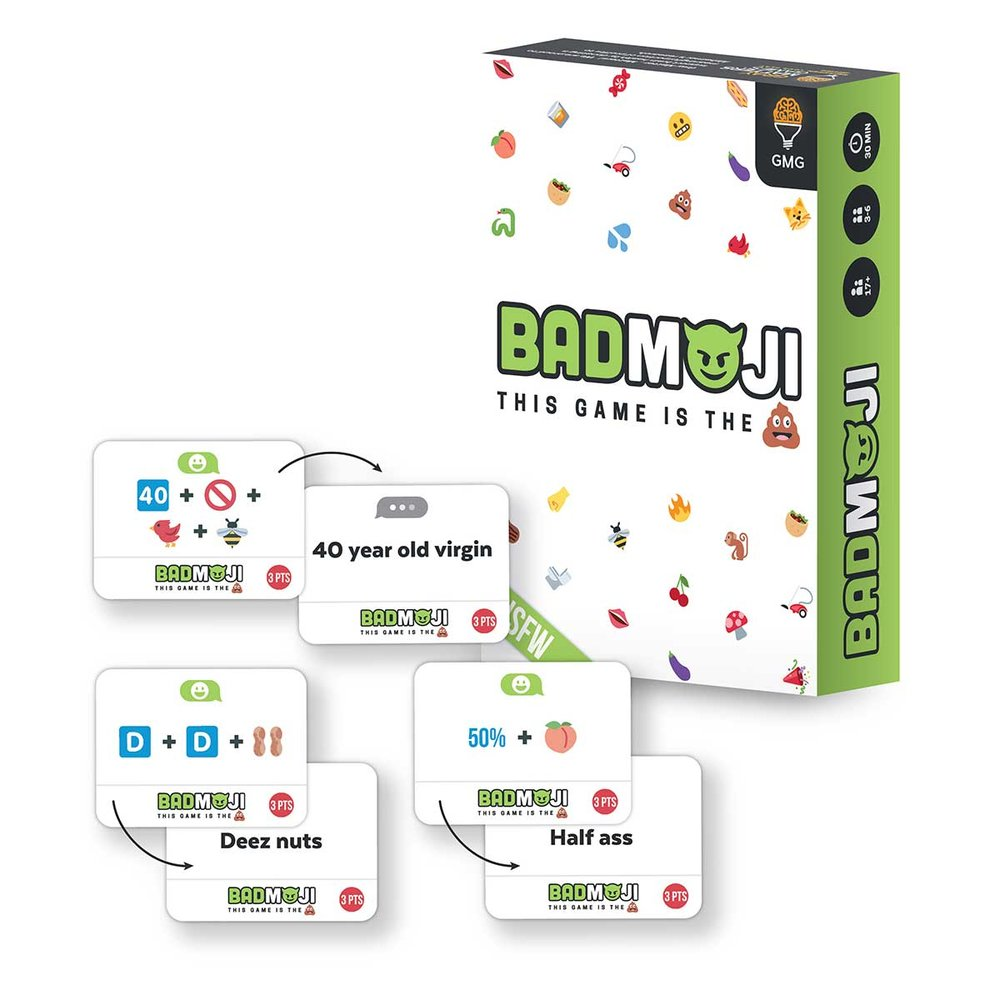 Badmoji by Gray Matters Games