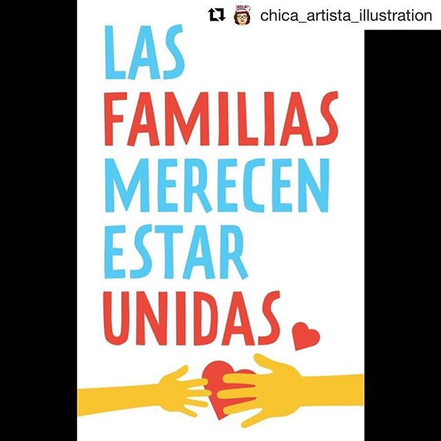 "#Repost @chica_artista_illustration ・・・ **artwork via ""Families Belong Together""** Looking for a family friendly detainee protest this weekend with kid hiphop @alphabetrockers ? I'll be at this educational rally helping screen print shirts and protest signs for the public with @print.organize.protest this Saturday from 11-1pm at lakeside park at Lake Merritt. Kids will learn that they too can be outraged and stand with detained and seperated kids at the border. Take note, its best to bike or walk there and bring snacks, water, and sun protection.  #familiasmerecenestarunidas #familiesbelongtogether #lagenteunida #immigrationrights #notmyfnpresident #hiphop #kidshelpingkids #gottadosomethingpositivewiththisanger"