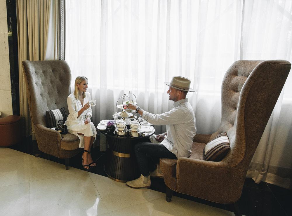 Luxury Hotel afternoon Tea Ritz Carlton Kuala Lumpur