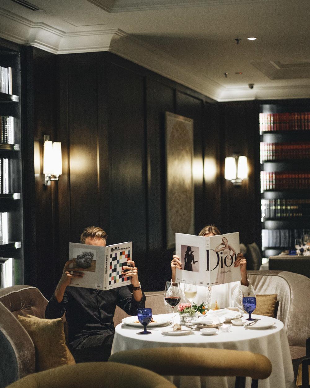 Luxury Hotel Kuala Lumpur foodie fine dining Ritz Carlton