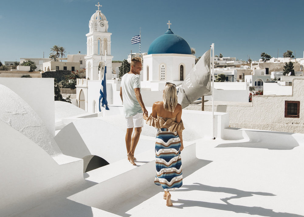 League Travels x Journey Greece- Santorini
