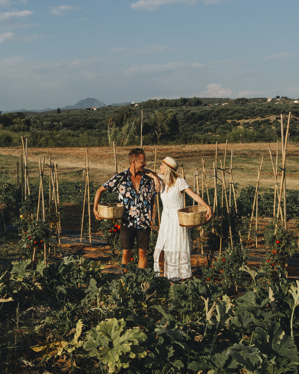farm-to-table experience in Crete, Greece