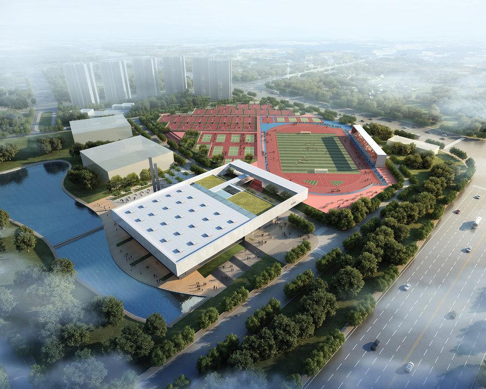 Jinan Sports Complex China