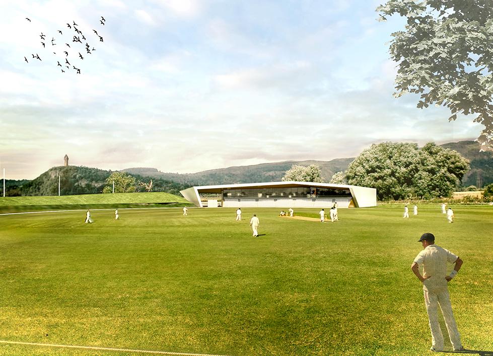 Scottish Cricket Pavillion