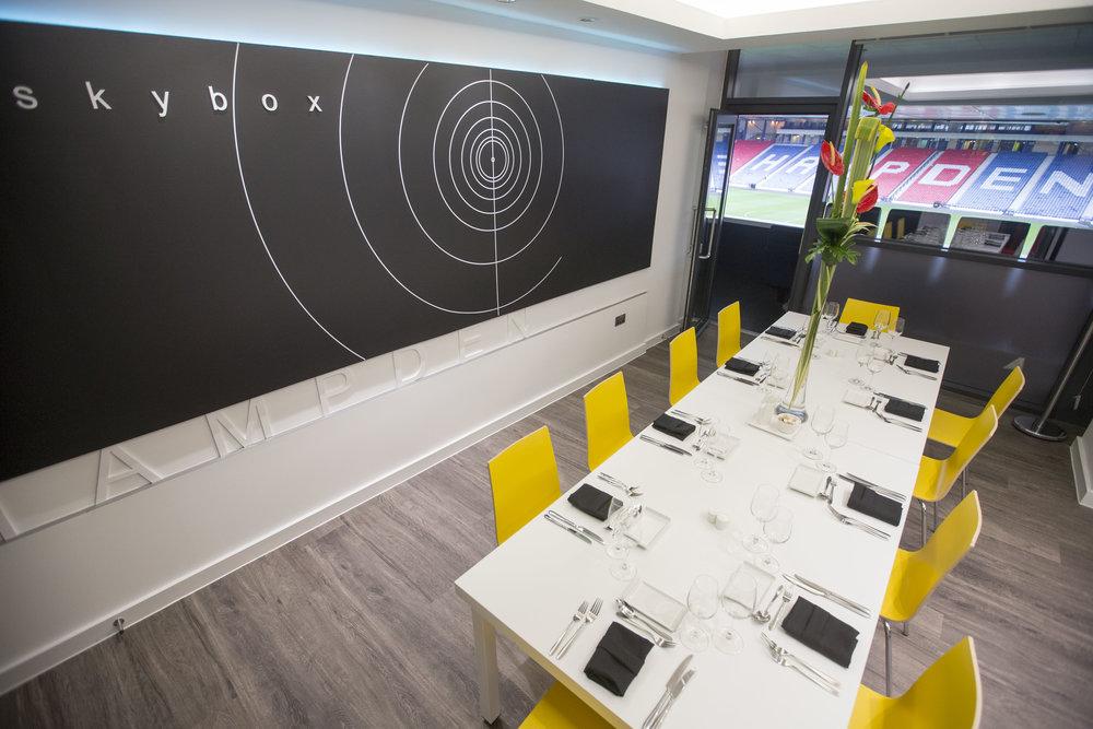 Euro 2020, Skyboxes