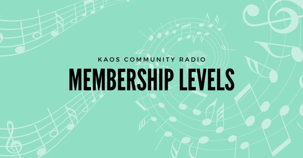 Listener supported, volunteer powered, community radio.