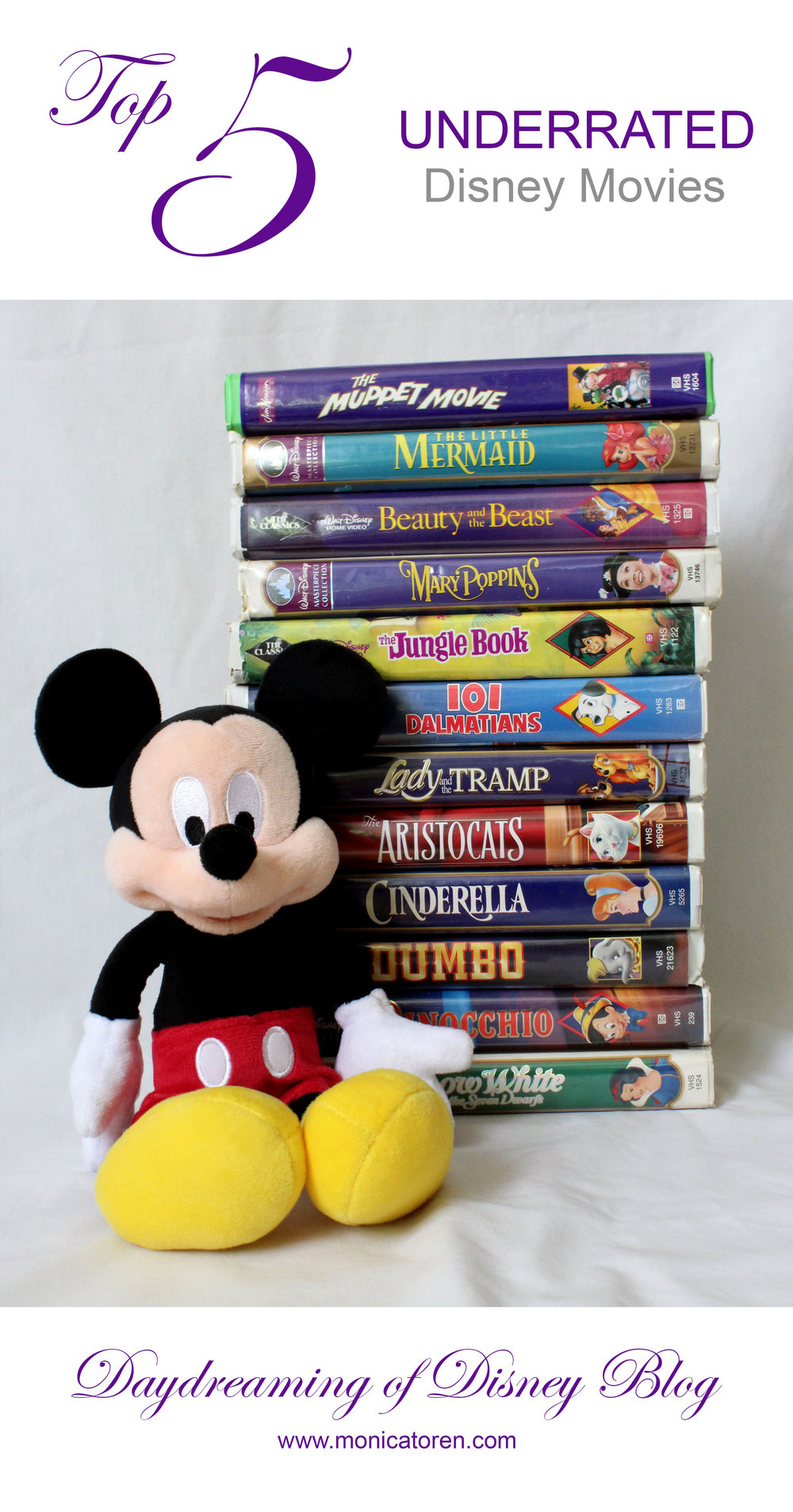 Daydreaming of Disney Blog - Top Five Underrated Disney Movies