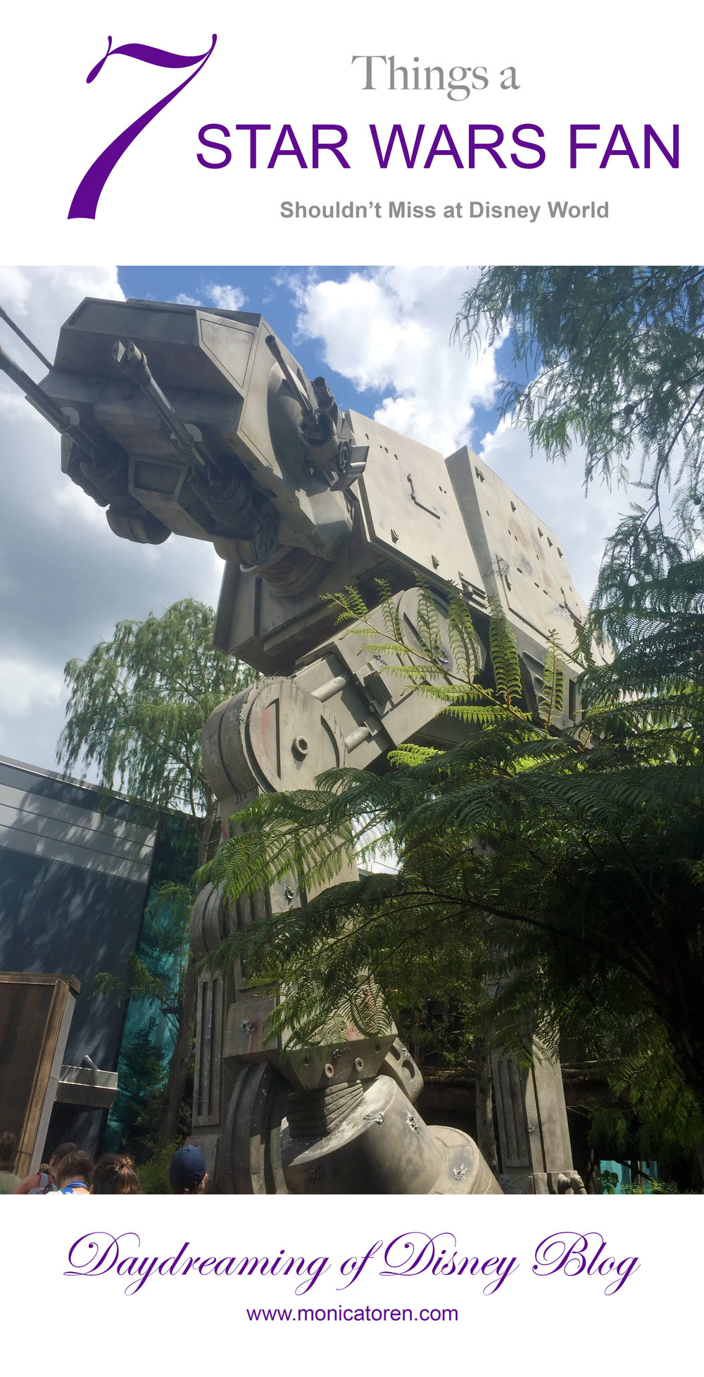 Daydreaming of Disney Blog - 7 Things a Star Wars Fan Shouldn't Miss at Disney World - http://www.monicatoren.com