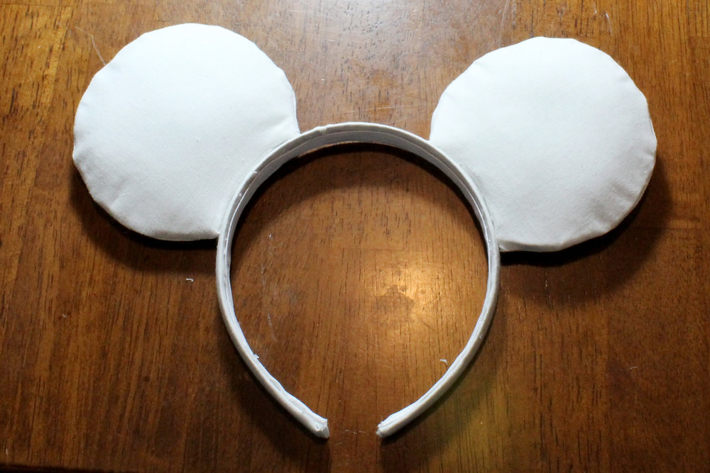 Voila! Your very own set of Mickey Ears!