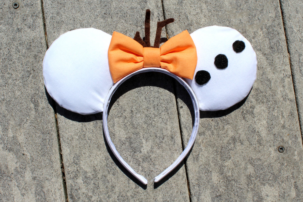 Olaf Mickey Ears from Mouse Ears by Monica