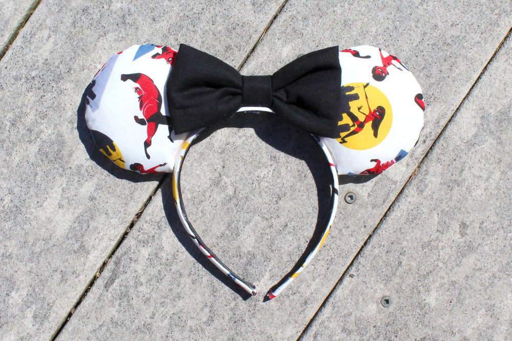 Incredibles Mickey Ears from Mouse Ears by Monica