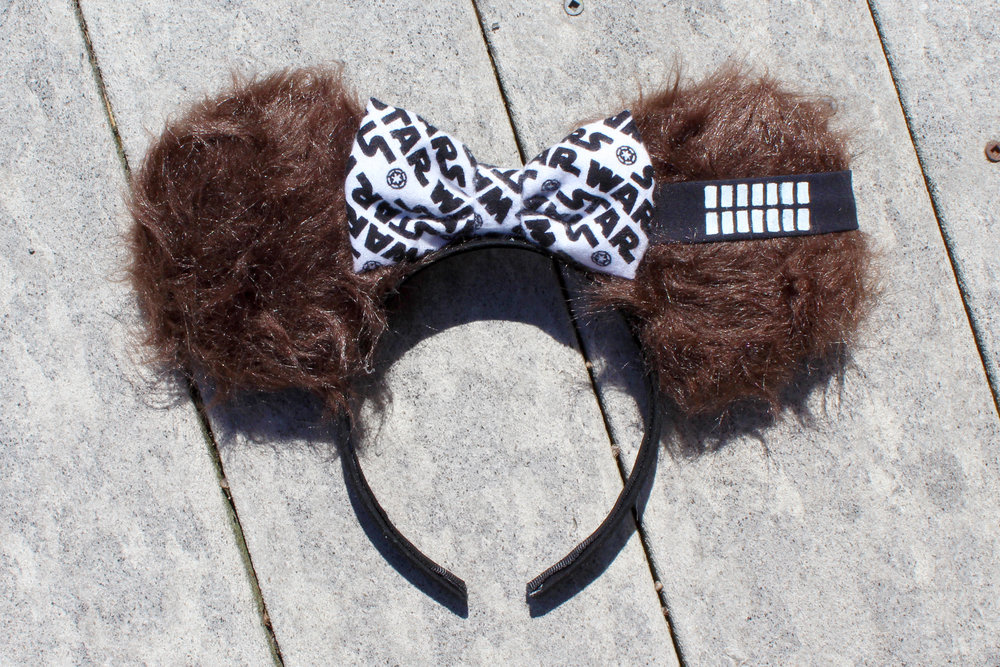 Chewbacca Mickey Ears from Mouse Ears by Monica