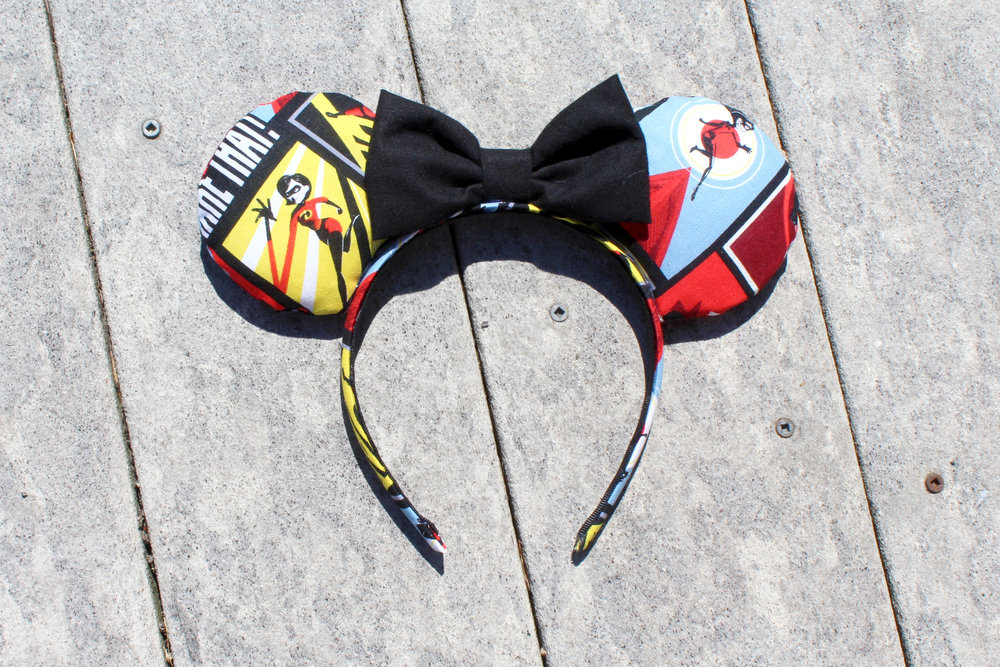 Comic Incredibles Mickey Ears from Mouse Ears by Monica