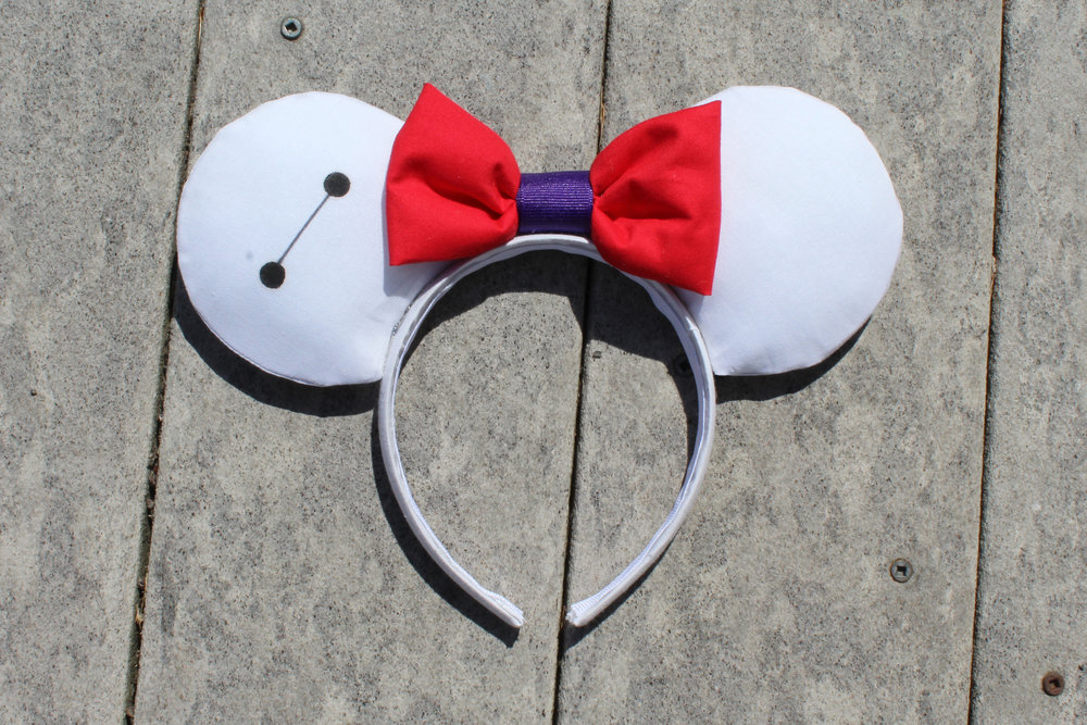 Baymax Mickey Ears from Mouse Ears by Monica