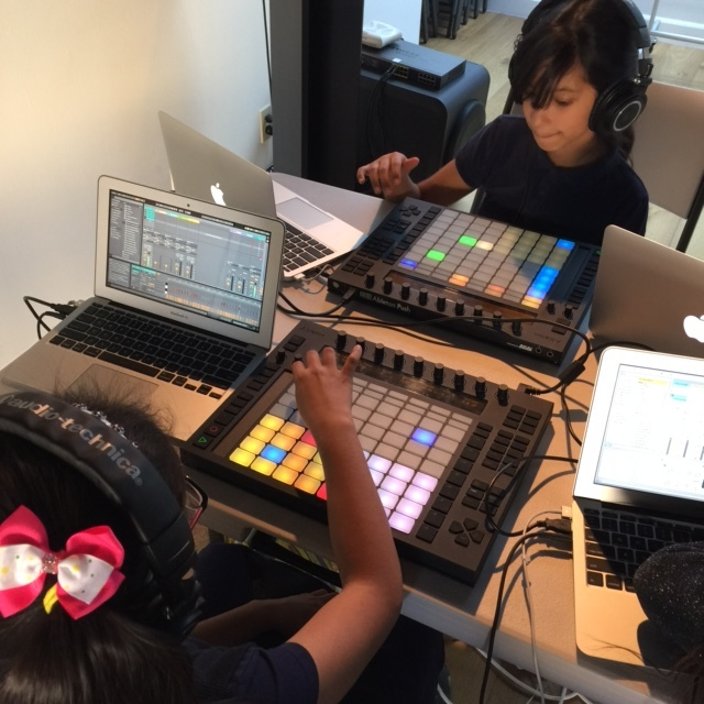 Beats By Girlz at the Ableton Offices in Pasadena, CA.JPG