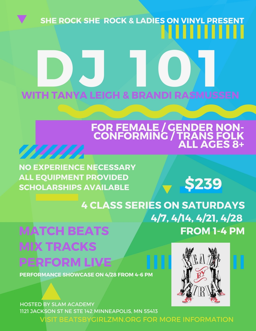 DJ 101 with Tanya Leigh and Brandi Rasmussen