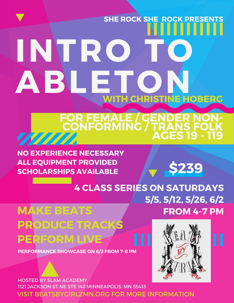 Intro to Ableton with Christine Hoberg