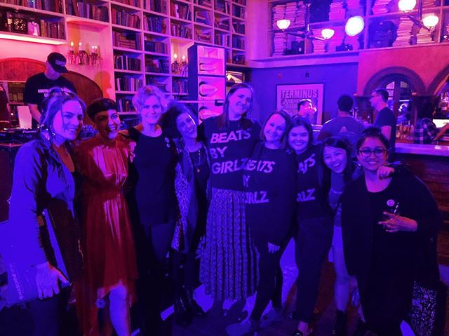 Thanks to everyone who came out to support Beats By Girlz at the Loop Pre-Game Party! Thank you to our performers @ryat, @drumandlace, @talflora and DJ @tanyaleigh_omen. Huge thanks to our partners @ableton @moogsynthesizers  @senselinc @weareelektron @makenoisemusic @bastlinstruments @output @nativeinstruments @synthplex_burbank @moksynth and@teenageengineering. A special thank you to our sister organizations @gems ynthlab @womeninmusic @soundgirls @plagpresents @femalepressure  and @womensaudiomission ✨Lastly thanks to @thestudyhollywood ✨