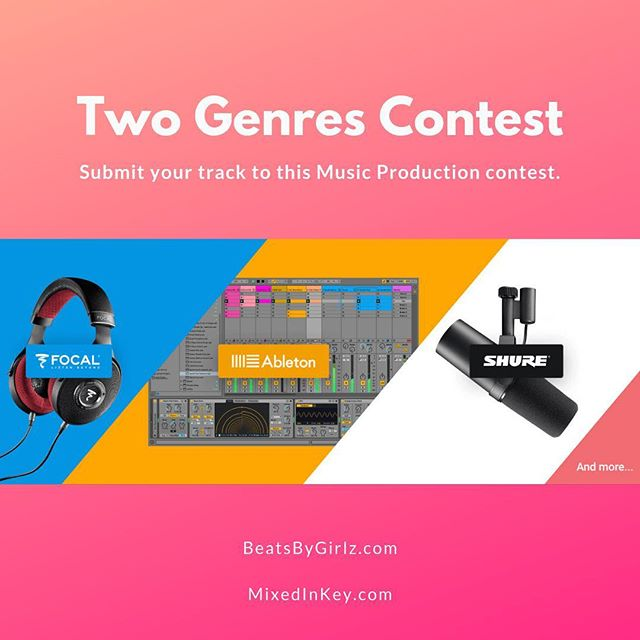 Calling all producers! @mixedinkey is holding a Two Genres contest! To enter, producers need to create an original track that combines together elements from at least two different musical styles. Submissions due Nov 30, 2018. This is a great opportunity to have your music heard by a respected panel of judges including @Kaskade, @NickyRomero, @MorganPage, @Dzeko and more. Winners get incredible prize packs including software and hardware from @Ableton, @Arturia_Official, @FocalOfficial, @iZotopeInc, @Output, @theRolandCloud, @Shure, @Splice and @UAudio. Apply here: https://mixedinkey.com/captain-plugins/two-genres-contest/