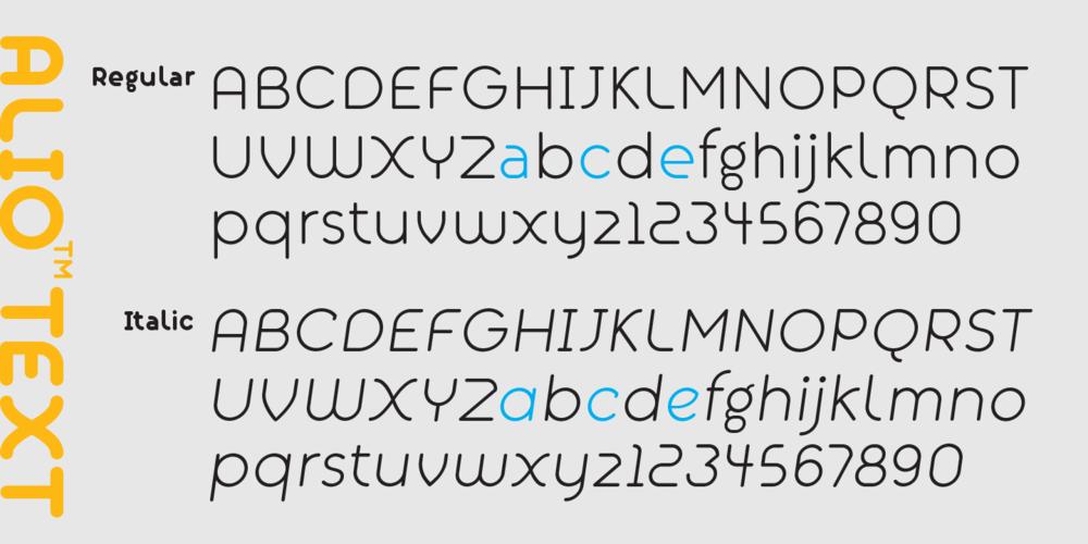 Alio_Text_Font_Sample