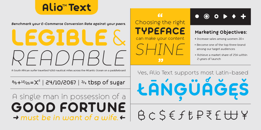 Alio_Text_Font_Type_Specimen