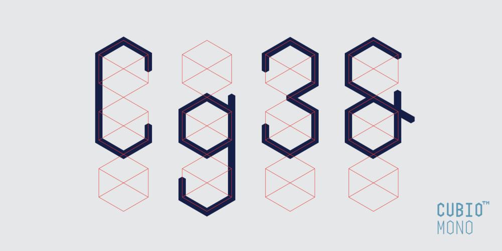 Cubio Mono Basic Type Wireframe