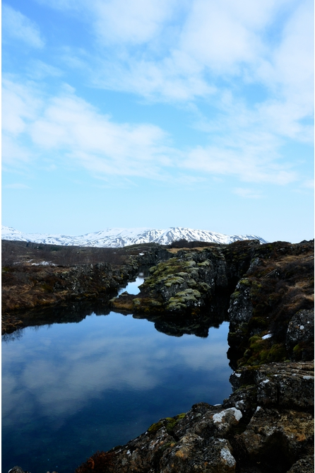 Iceland   I took this photograph on an April morning during a geography school trip to Iceland in 2014. The subject was a natural spring, located near two plate boundaries. The water was fresh enough to drink. —I.T.