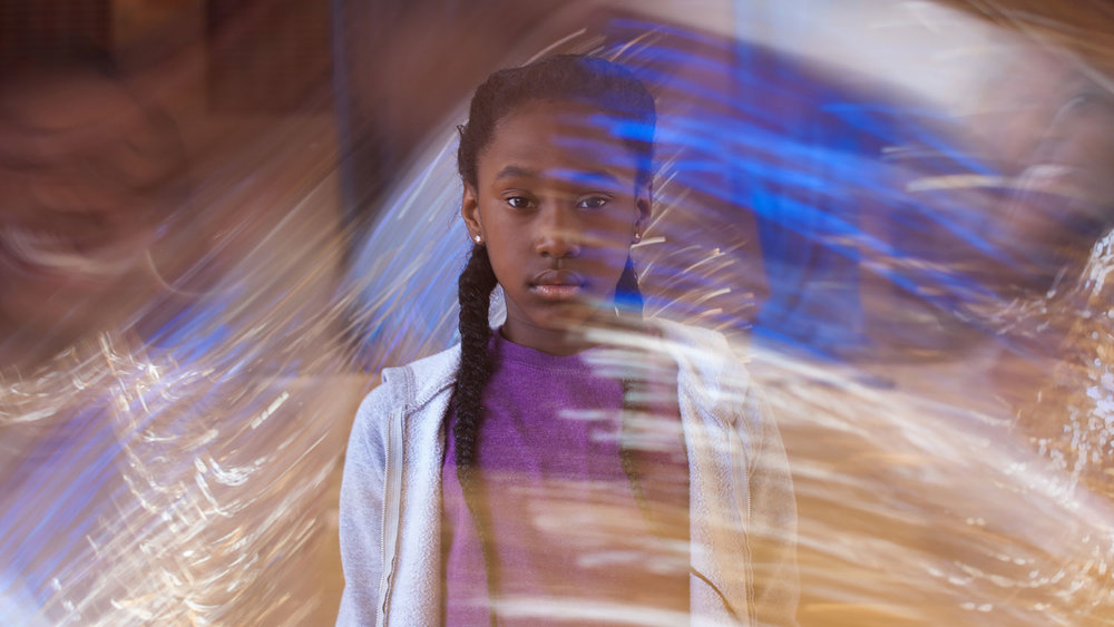 Royalty Hightower as Toni in Anna Rose Holmer's  The Fits . Courtesy of Oscilloscope Laboratories.
