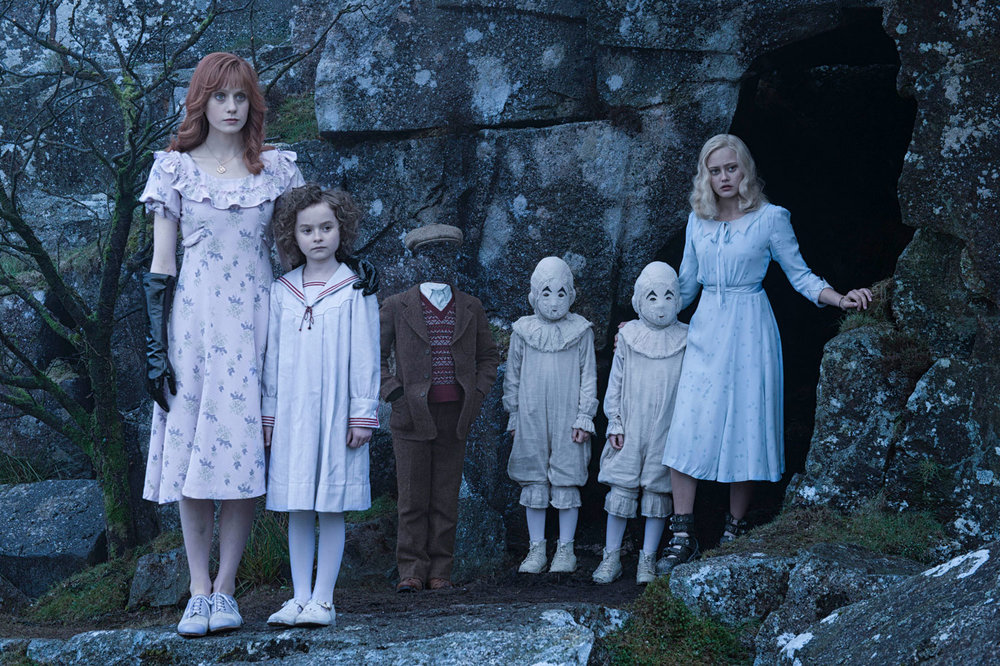 Lauren McCrostie (left) in Miss Peregrine's Home For Peculiar Children. Photo courtesy of 20th Century Fox.