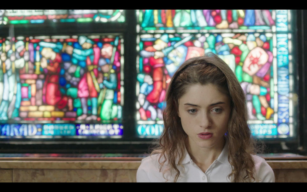 Natalia Dyer in Yes, God, Yes.