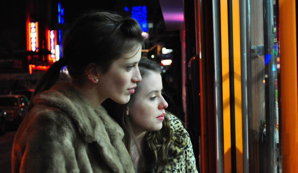 Anna Hogarth and Rosie Day in  Good Night . Still by Arturo Vasquez.