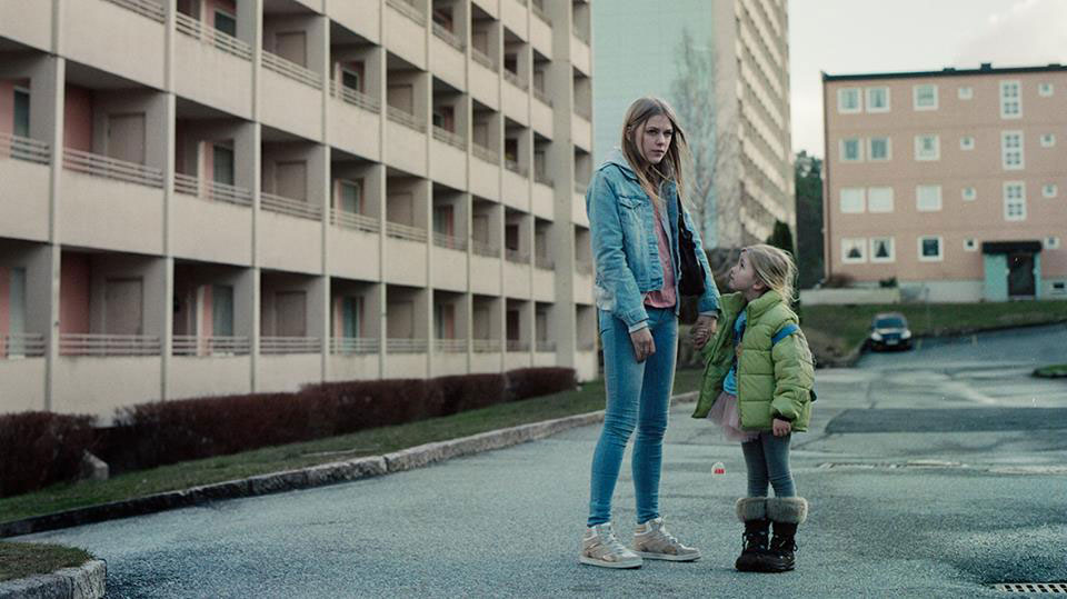 Helene Bergsholm and Alette Johanne Hellesoy in It's Alright. Still by Director of Photography Karl Erik Brøndbo.