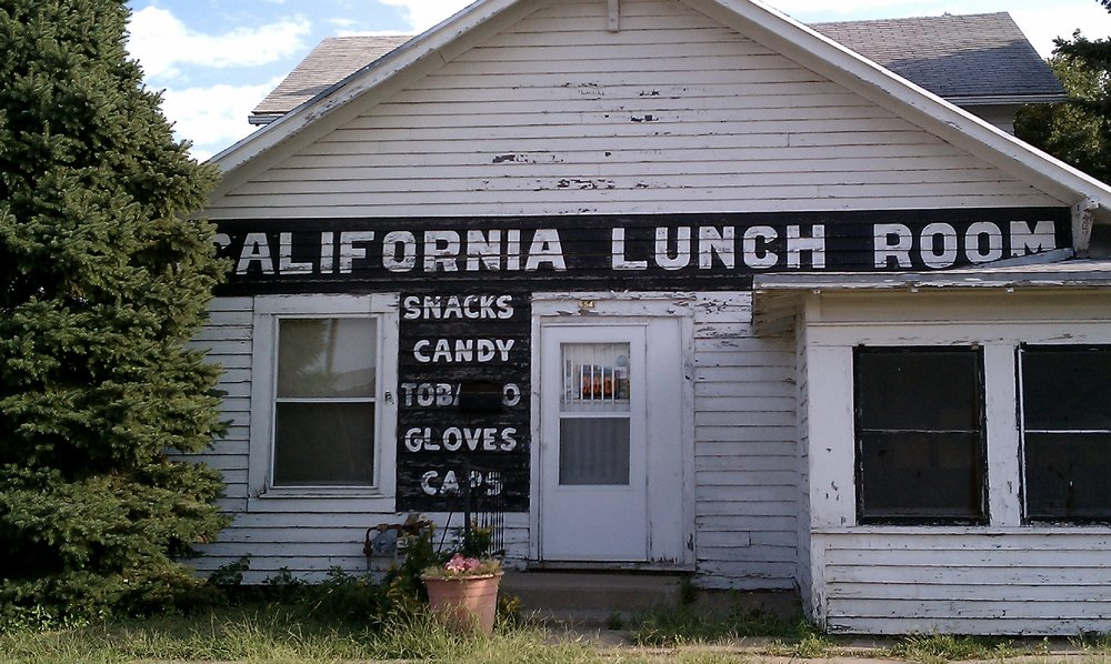This image of the California Lunch Room was the prompt for Contest 1.