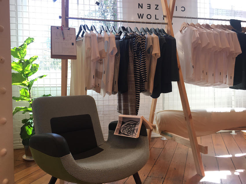 Popping up in Sydney during Fashion Revolution Week. More Citizen Wolf popups are planned, next one for Brisbane