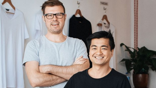 Zoltan Czaki & Eric Phu, founders of Citizen Wolf