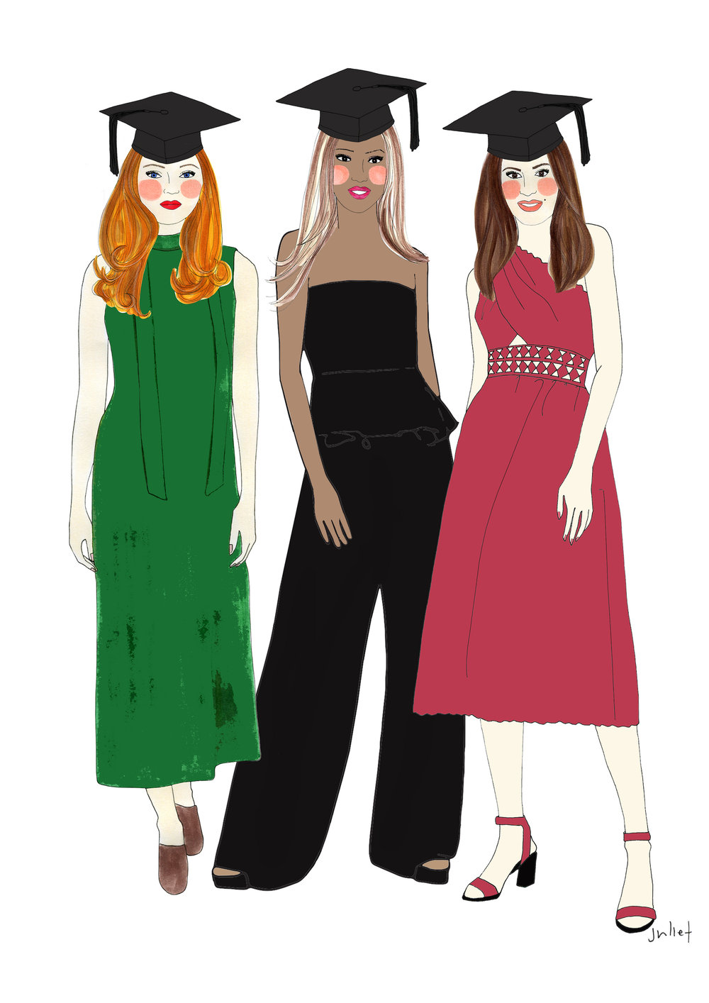Illustration by Juliet Sulejmani for Wardrobe Crisis