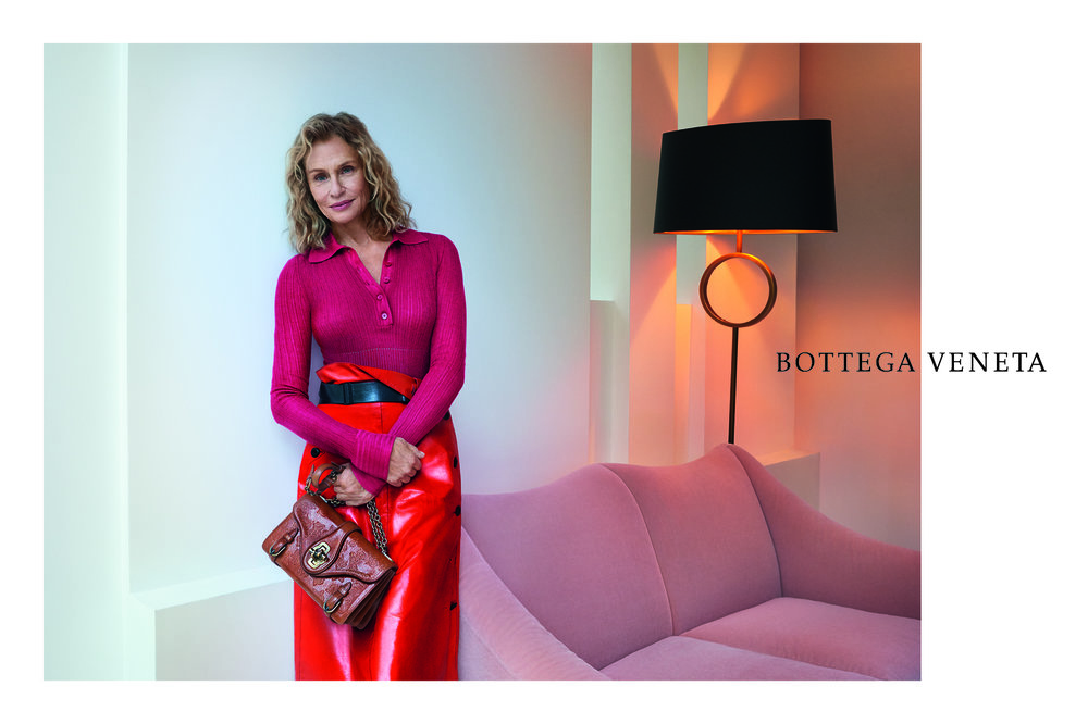 Lauren Hutton for Bottega Veneta, Spring '17