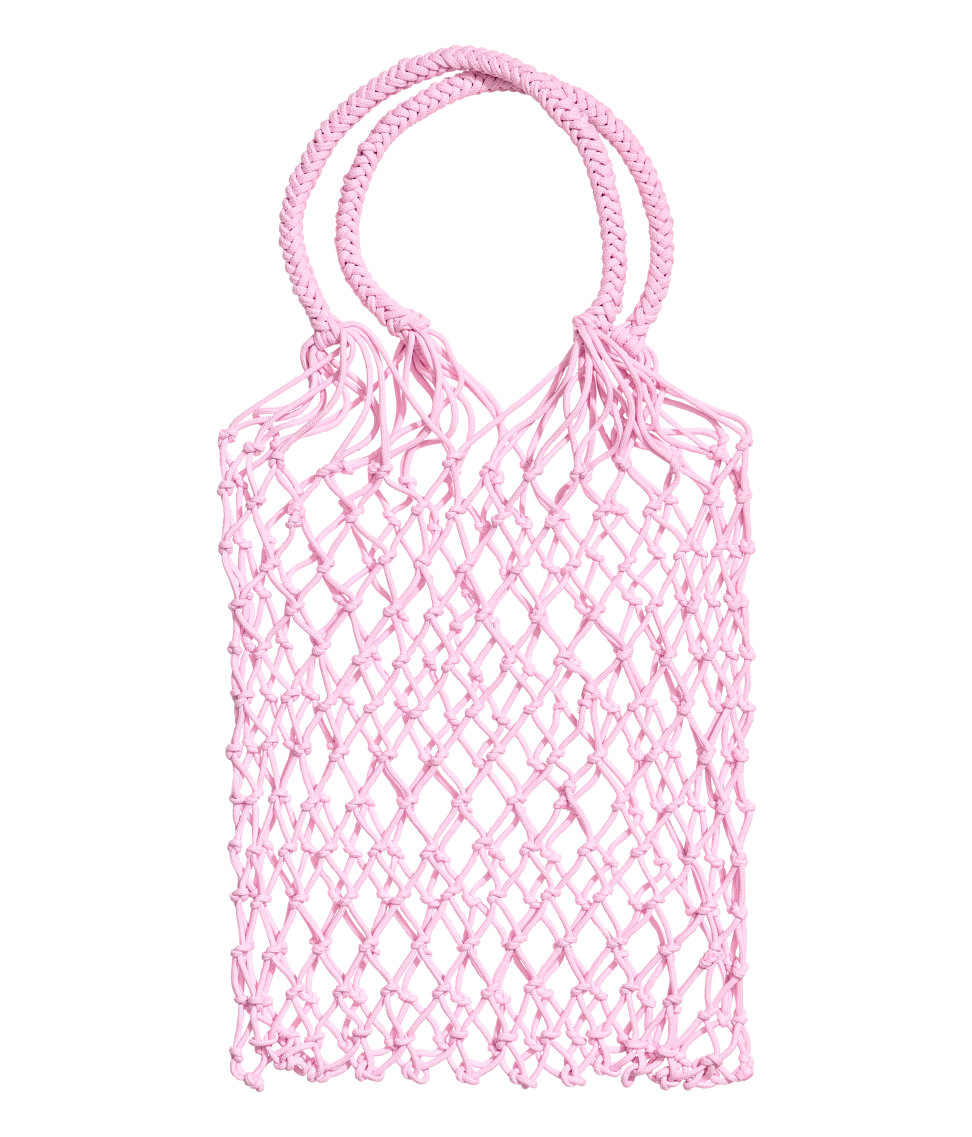 The Conscious Exclusive Mesh Shopper made from recycled polyester is still available.