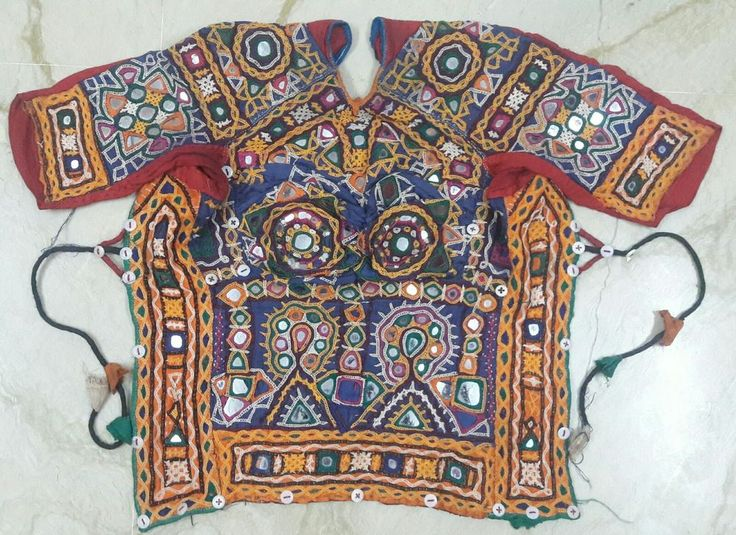Antique Rabari embroidered choli