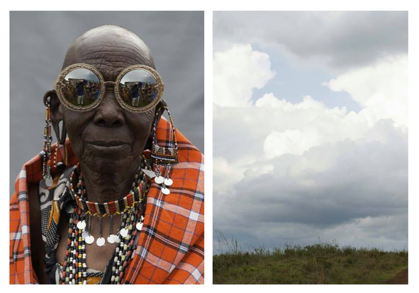 Karen Walker Eyewear, Spring 2014 shot by Derek Henderson in Kenya with artisans from the Ethical Fashion Initiative
