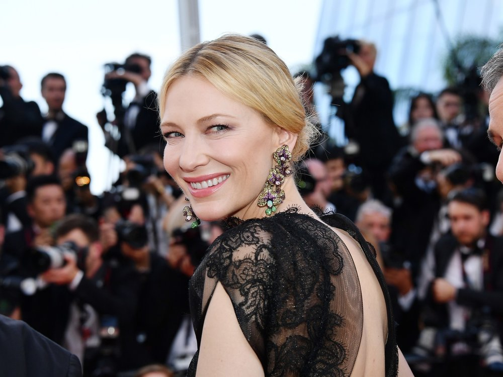 Yes, it made headlines when Cate Blanchett wore this Armani Prive couture gown for a second whirl down the red carpet in 2018. She'd first worn it four years earlier.