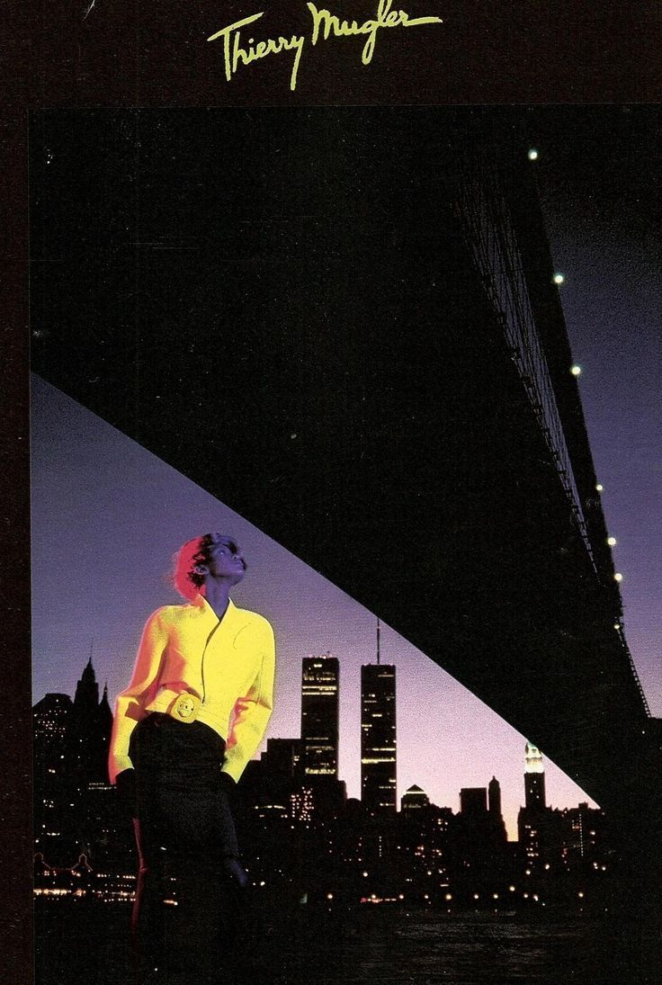 Thierry Mugler advertisement, 1980s