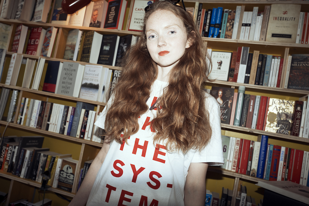 Lily Cole photographed by Flo Kohl.