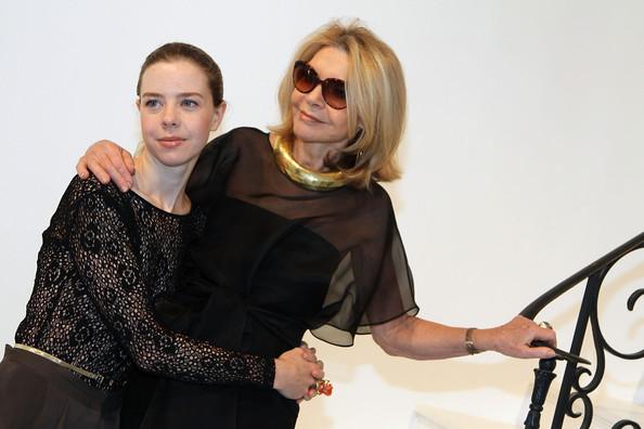 With Carla Zampatti