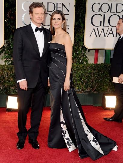 In Giorgio Armani, 2012 Golden Globes
