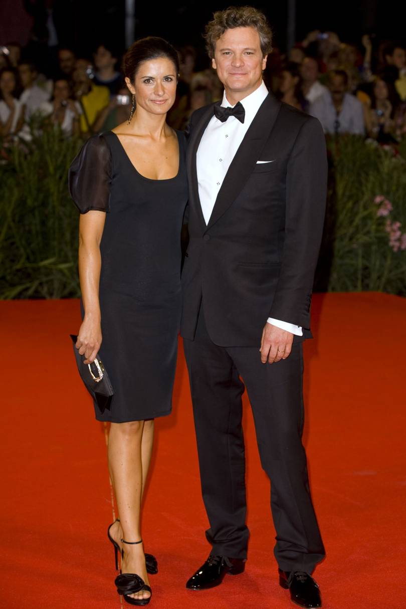In From Somewhere by Orsola de Castro, at the Venice premier of A Single Man, 2009
