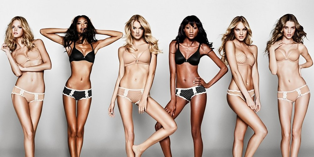 """When a Victoria's Secret ad proclaimed this """"the perfect body"""" in 2014, there was uproar."""